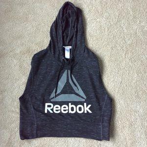 Reebok crop hoodie